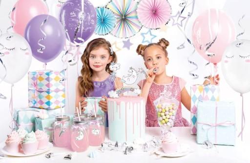 Dekoracje Urodzinowe Jednorożec Na 3 4 5 Urodziny 7478910678