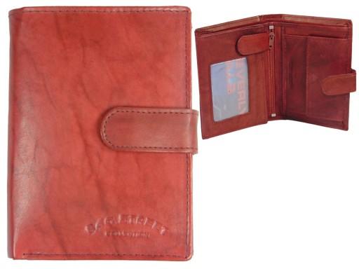741970aa23467 Tani portfel skórzany męski z zapięciem Kolory 6696589523 - Allegro.pl