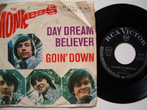 THE MONKEES - DAY DREAM BELIEVER - GOIN' DOWN