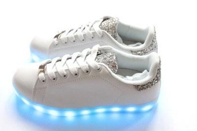 buty męskie z podświetlaną podeszwą allegro