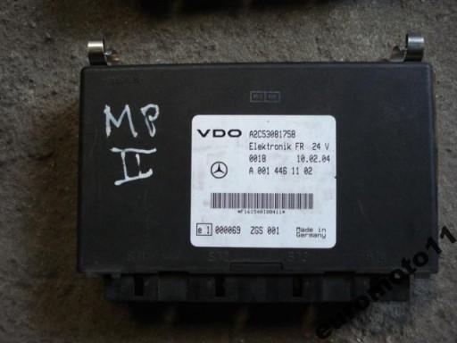 ACTROS CONTROLLER THE BLOCK ELECTRONICS FR 0014461102 FV