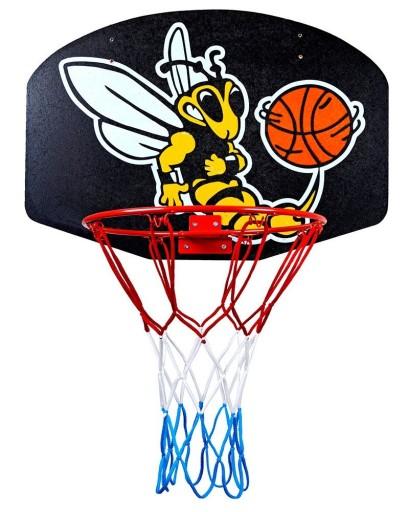 Tablica tarcza do koszykówki kosza + obręcz siatk