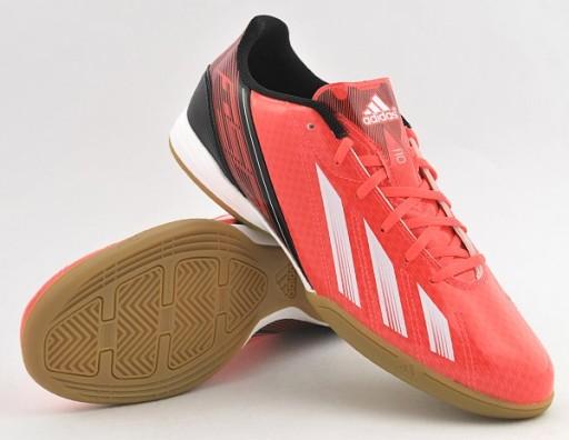Buty Adidas F50 F10 IN roz. 44 23 pomarańczowe
