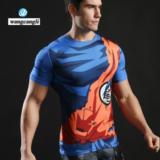 Koszulka T Shirt Dragon Ball Z Goku Rashguard Pl 7071217683 Allegro Pl