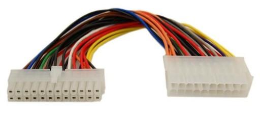 ACJ Kabel Adapter zasilania ATX 20 pin na 24 pin