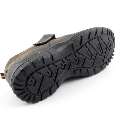 MANITU 620206 półbuty sandały grafitowe r 40 8252026821