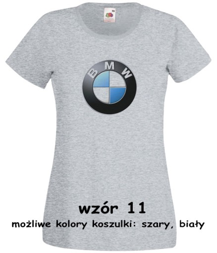 koszulka BMW E30 E34 logo znaczek XS *