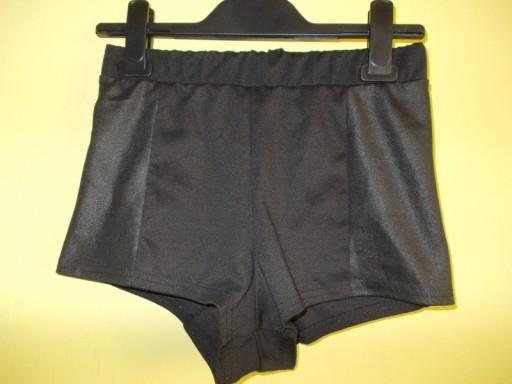 Spodenki krótkie szorty czarne zip Pink ( 36 / 38