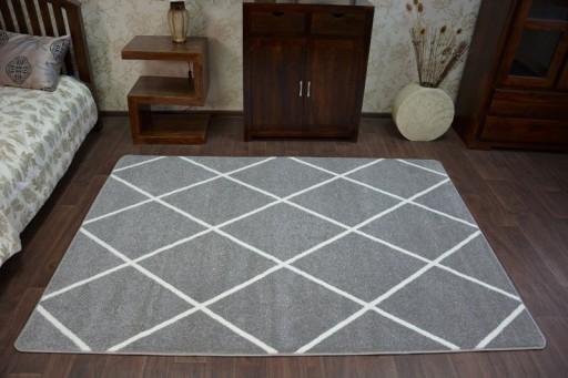 Dywany łuszczów Sketch 240x330 Romby Gr2448
