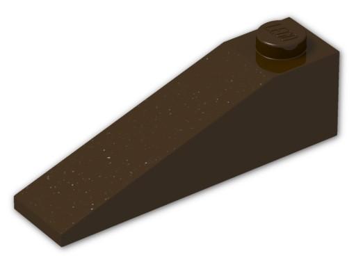 16544 LEGO 60477 skos 18 4x1 ciemno-brązowy 1szt