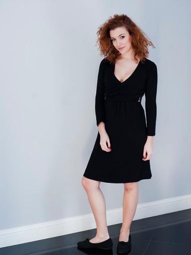 ZIABAQLU sukienka do karmienia CLASSIC BLACK 34*XS