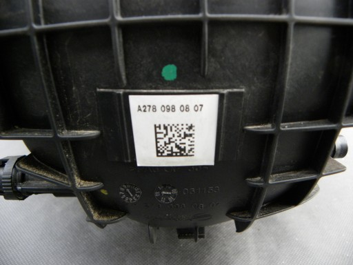 MERCEDES W222 S500 KOLEKTOR SSĄCY A2780980807 4.7