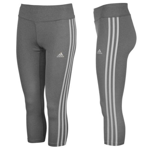 sprzedaż najniższa cena zniżka Adidas Climalite Legginsy 3/4 Grey JAKOŚĆ - M