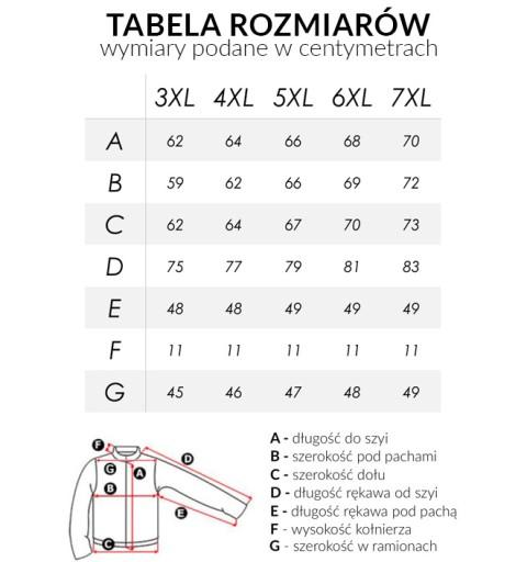 Pikowana Kurtka Damska z Kapturem 50057 7XL czarny