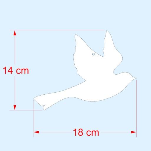 Ptak - Dekoracja do ogrodu, działki i balkonu 5b