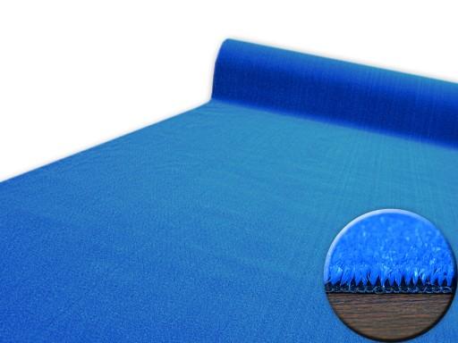 WYKŁADZINA SZTUCZNA TRAWA 400 cm niebieska ^*X574