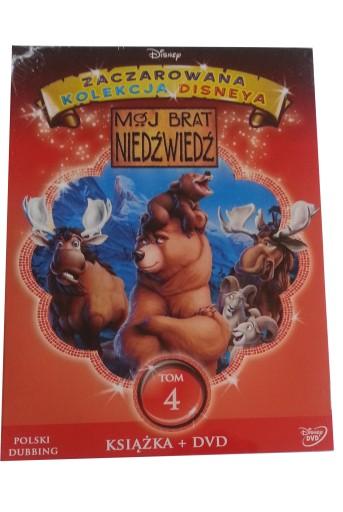 MÓJ BRAT NIEDŹWIEDŹ - DVD + książka