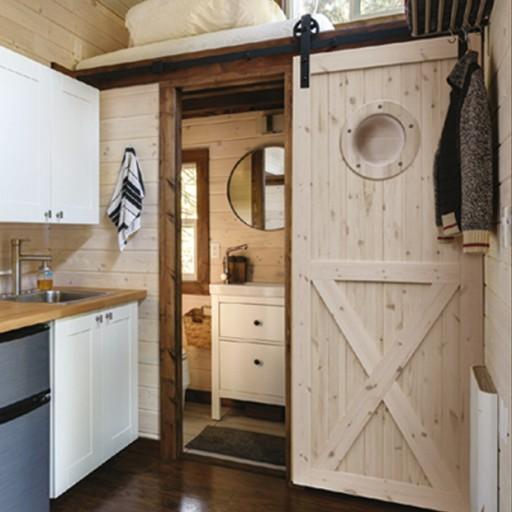 Drzwi Drewniane Do łazienki Sosna Radex Loft Ox 90