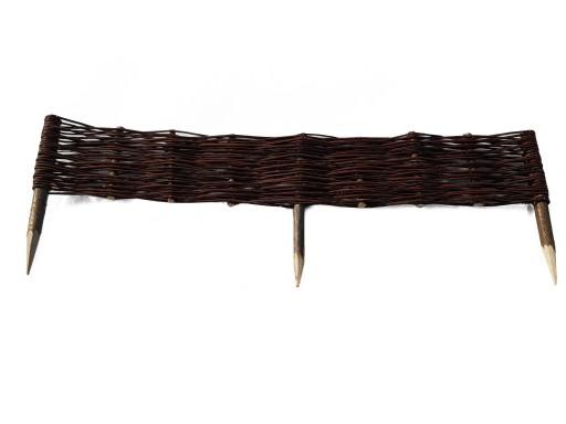 EKO palisada wiklinowa,płotek 20 szt 100x20 cm