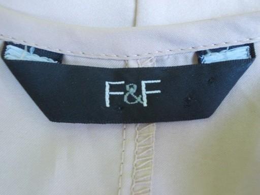Bluzka asymetryczna dżety nity nude F&F 38 /40