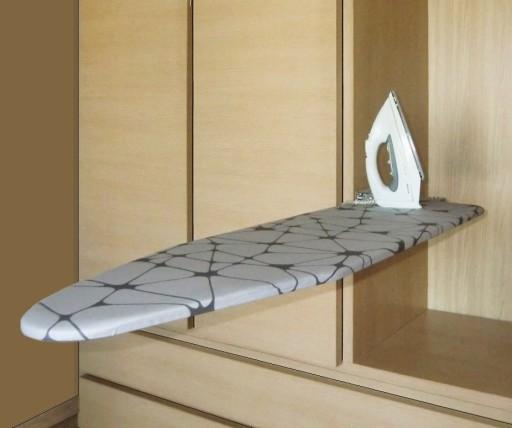 Deska do prasowania składana do szafy 115 x 33 cm