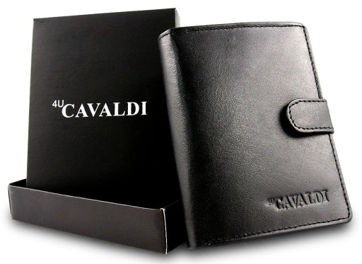 10e3466aed7a6 Portfel męski skórzany 4 u Cavaldi 0800L-BS 7549486197 - Allegro.pl