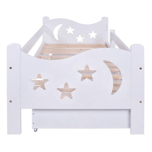 łóżko Dziecięce Mikołaj 160x80 Materac Biały 6907274388 Allegropl