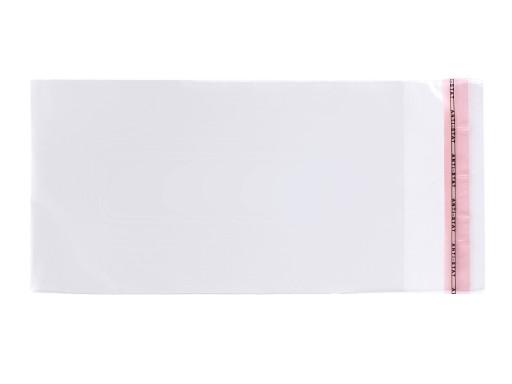 worki foliowe z klejem 40cmx45cm (np. odzież)