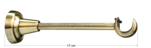 NOWE KARNISZE METALOWE LUXURY POJEDYNCZE 19 240 cm
