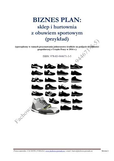 7d8096ced65ede BIZNES PLAN sklep z obuwiem sportowym (przykład) 7139136963 - Allegro.pl