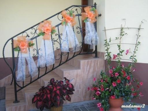 Kokardy Duże Piękne Dekoracja Domu Kościoła ślub 7117186187 Allegropl