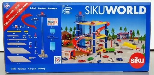 Na Wyprzedaży Siku 5505 Parking Garaż Z Windą 3 Piętra 1 Auto
