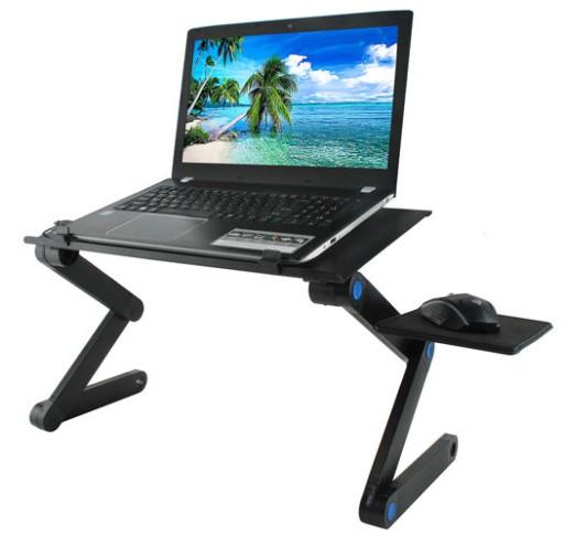 Składany Stolik Pod Laptopa Podkładka Chłodząca