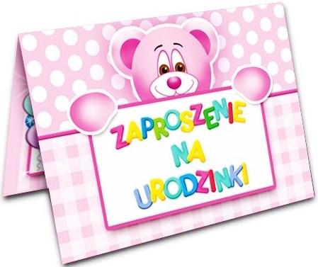 Zaproszenie Na Urodziny Urodzinki Roczek Pierwsze 6440997700