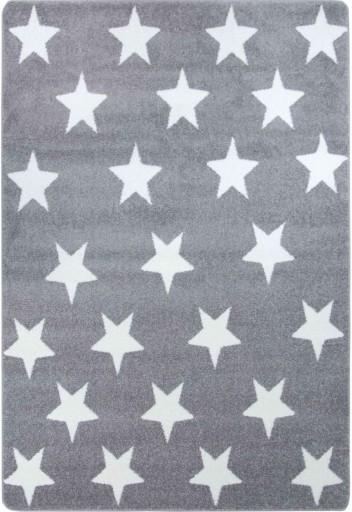 DYWAN SKETCH FA68 szaro biały Gwiazdki 160x220
