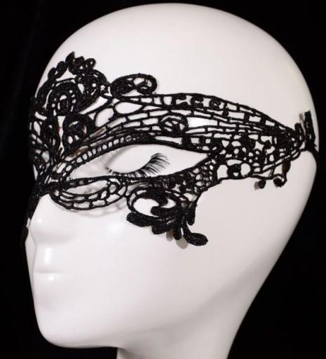 KORONKOWA Maska na oczy kusząca SEXY_karnawał, bal