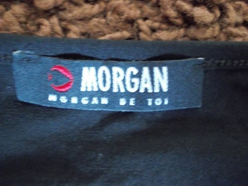 Bluzka z cekinami czarna Morgan ( 36 / 38 )