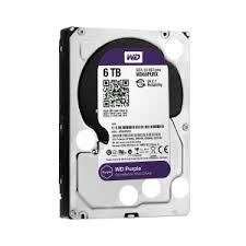 NOWY DYSK DO MONITORING HDD WD 6TB PURPLE WD60PURZ