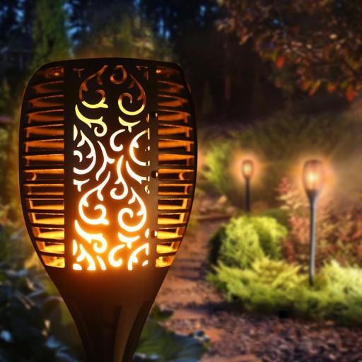 nieczynne lampy solarne do ogrodu