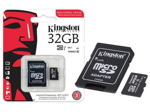 Karta Micro Sd 32gb Kingston Industrial Mlc 90mb S 7634711429 Sklep Internetowy Agd Rtv Telefony Laptopy Allegro Pl