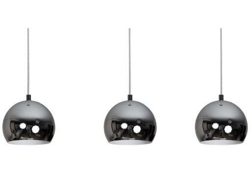 Nowoczesna Lampa Ball Chrom Metalowe Kule Zwis 6083516806 Allegropl