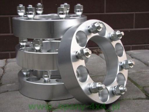 Dystanse kół aluminiowe 6x139,7 12x1,25 30mm