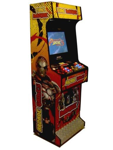 Automat Gra Arcade Quot Time Machine Quot V1 7403066407 Sklep Internetowy Agd Rtv Telefony Laptopy Allegro Pl