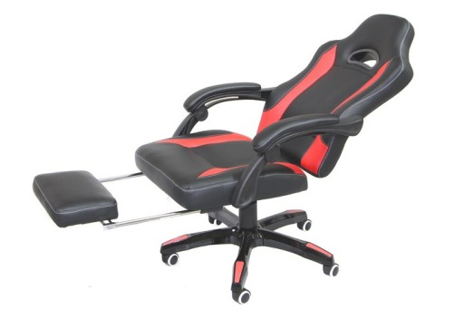 Krzesło Fotel gamingowy z podnóżkiem RACER 419 zł