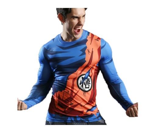 Koszulka Termoaktywna Dragon Ball Son Goku Stroj 9021129071 Allegro Pl