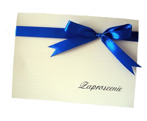 Zaproszenia Zaproszenie Chrzest Komunia ślub 7582525783 Allegropl