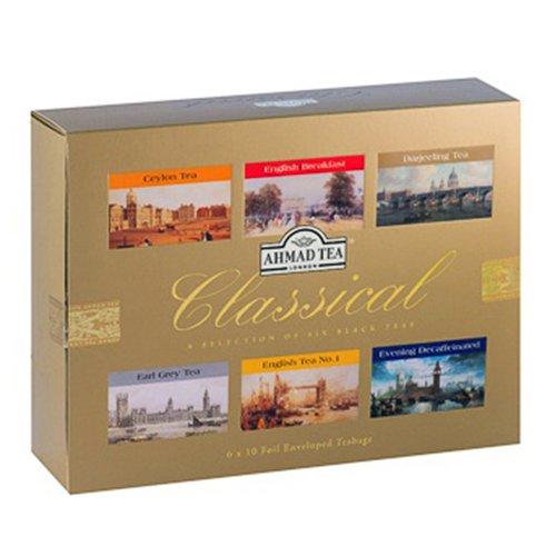 Ahmad Tea Classical Six Herbaty Czarne 60tb 8640303288 Allegro Pl