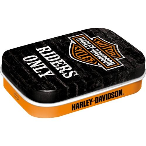 Miętówki HARLEY-DAVIDSON metalowe pudełko prezent