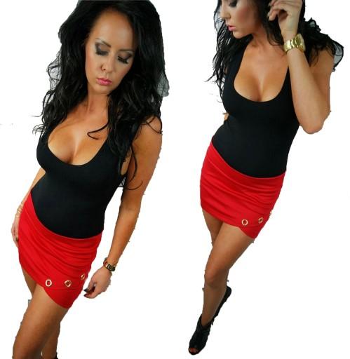 LipMar sexowna spódniczka mini kolory S 36