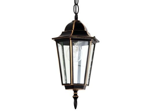 Lampa wisząca zewnętrzna ALU do LED E27 KB4105